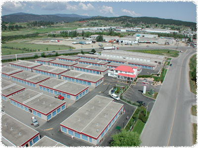 Kelowna Self Storage facility